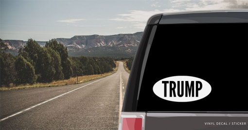 Donald Trump Personalized (or not) Sticker