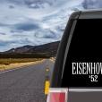 Dwight D. Eisenhower Vinyl Decal