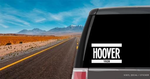 Herbert Hoover Vinyl Decal