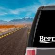 Bernie Campaign Logo Vinyl Decal