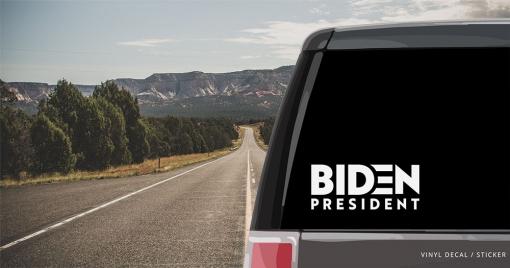 Biden 2020 Vinyl Decal