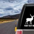 Deer Personalized (or not) Sticker