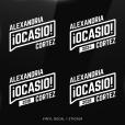 Alexandria Ocasio-Cortez Sticker
