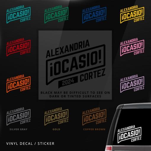 Alexandria Ocasio-Cortez Decal