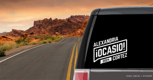 AOC Window Decal