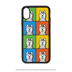 Alaskan Malamute iPhone X Case
