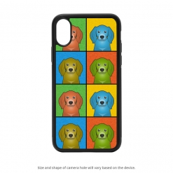 Coonhound iPhone X Case