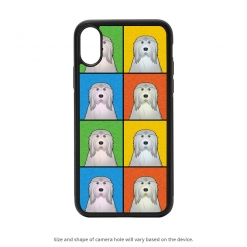 Bearded Collie iPhone X Case