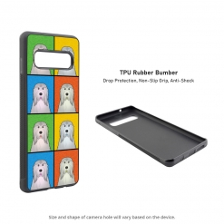 Bearded Collie Samsung Galaxy S10 Case