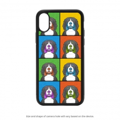 Bernese Mountain Dog iPhone X Case