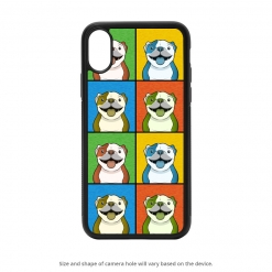 Bulldog iPhone X Case