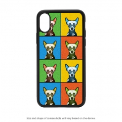 Chinese Crested Dog iPhone X Case