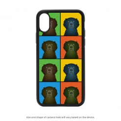 Curly Coated Retriever iPhone X Case