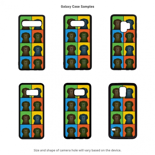 Curly Coated Retriever Galaxy Cases