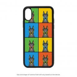 Doberman Pinscher iPhone X Case