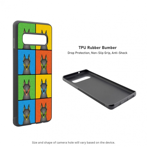 Doberman Pinscher Samsung Galaxy S10 Case
