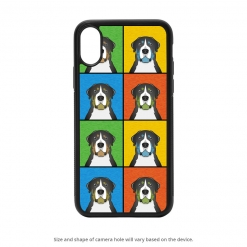 Greater Swiss Mountain Dog iPhone X Case