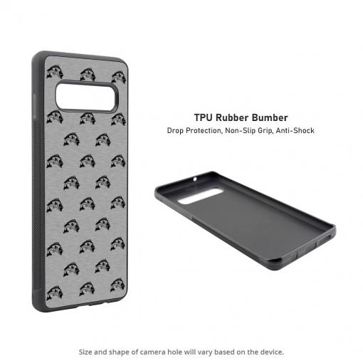 Largemouth Bass Silhouettes Samsung Galaxy S10 Case