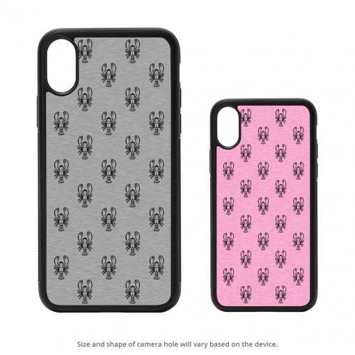 Lobster Silhouettes iPhone X Case