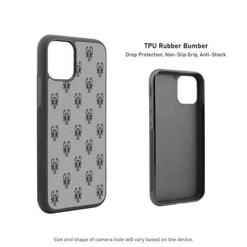 Lobster Silhouettes iPhone 11 Case
