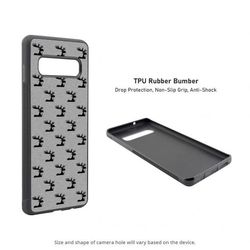 Moose Silhouettes Samsung Galaxy S10 Case