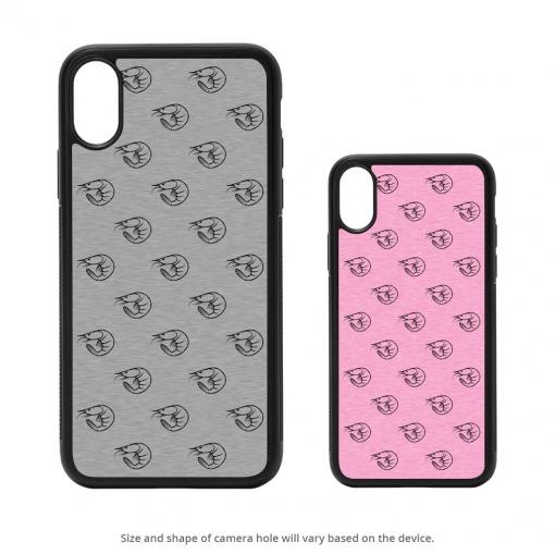 Shrimp Silhouettes iPhone X Case