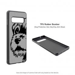 Border Terrier Samsung Galaxy S10 Case