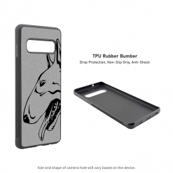 Bull Terrier Samsung Galaxy S10 Case