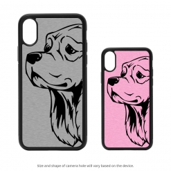 Cocker Spaniel iPhone X Case