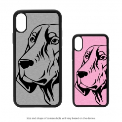 Coonhound iPhone X Case