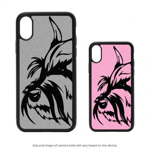 Schnauzer iPhone X Case