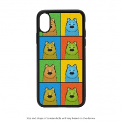 Keeshond iPhone X Case