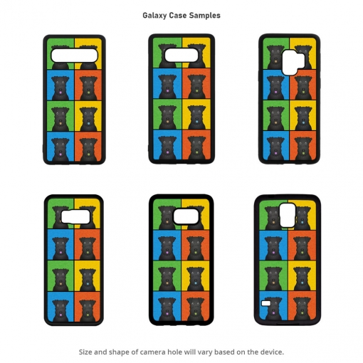 Kerry Blue Terrier Galaxy Cases