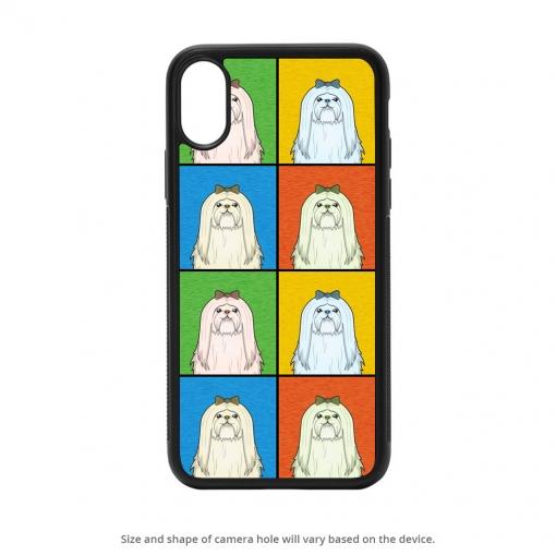 Maltese iPhone X Case