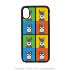 Miniature Schnauzer iPhone X Case