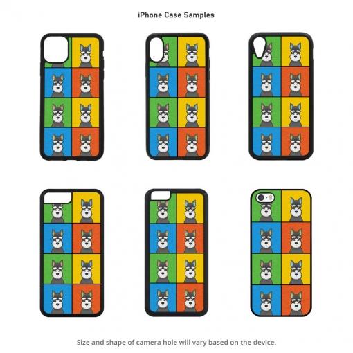 Miniature Schnauzer iPhone Cases