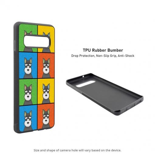 Miniature Schnauzer Samsung Galaxy S10 Case