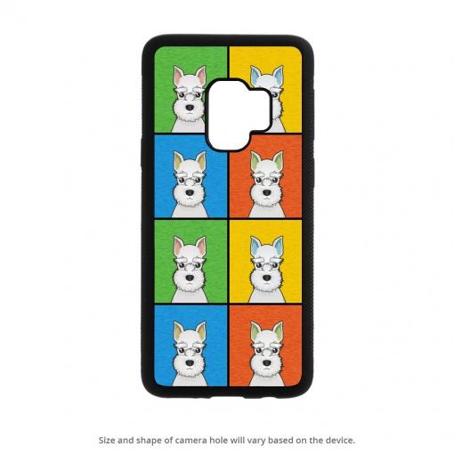 Miniature Schnauzer Galaxy S9 Case