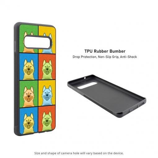 Norwegian Elkhound Samsung Galaxy S10 Case