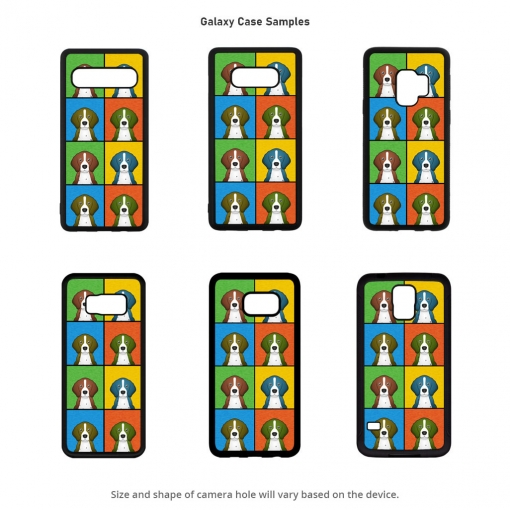 English Pointer Galaxy Cases