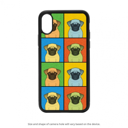 Pug iPhone X Case