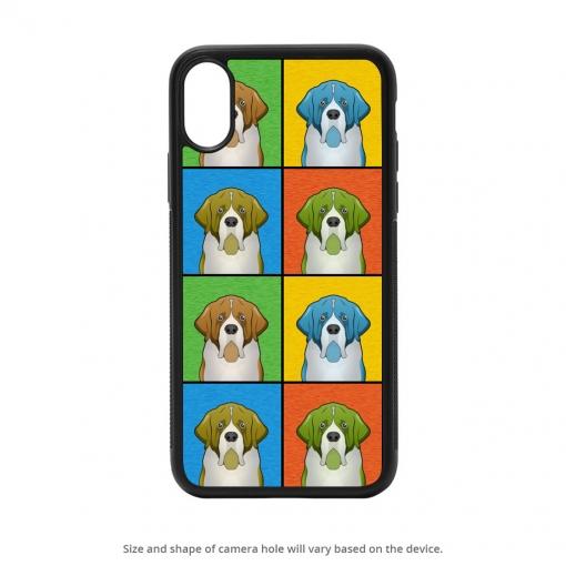 Saint Bernard iPhone X Case