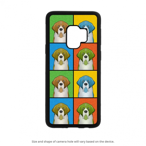 Saint Bernard Galaxy S9 Case