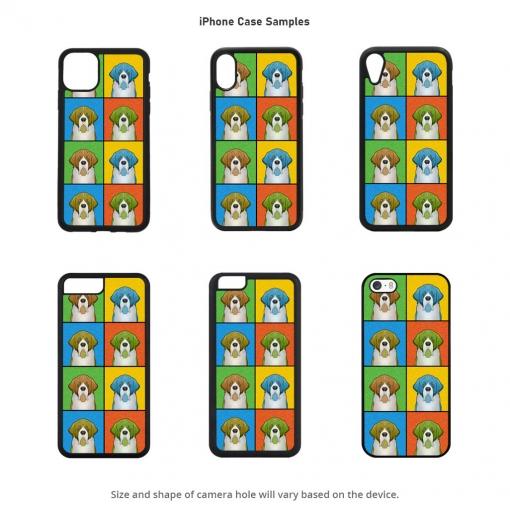 Saint Bernard iPhone Cases
