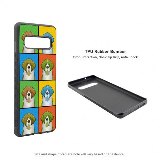 Saint Bernard Samsung Galaxy S10 Case