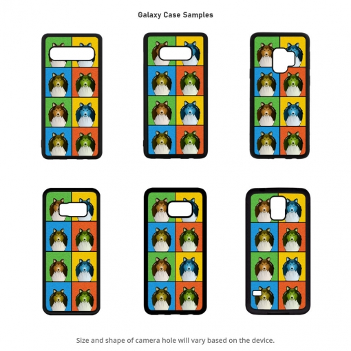 Shetland Sheepdog Galaxy Cases