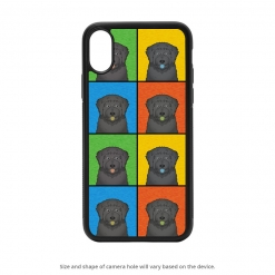 Black Russian Terrier iPhone X Case