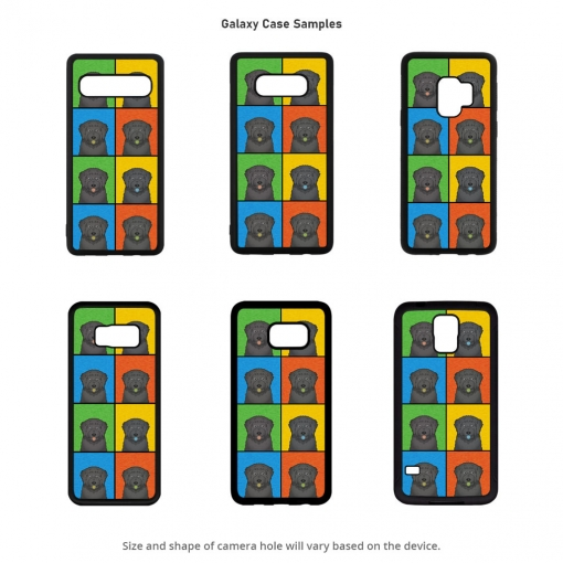 Black Russian Terrier Galaxy Cases