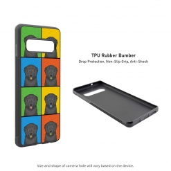 Black Russian Terrier Samsung Galaxy S10 Case