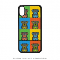 Chorkie iPhone X Case